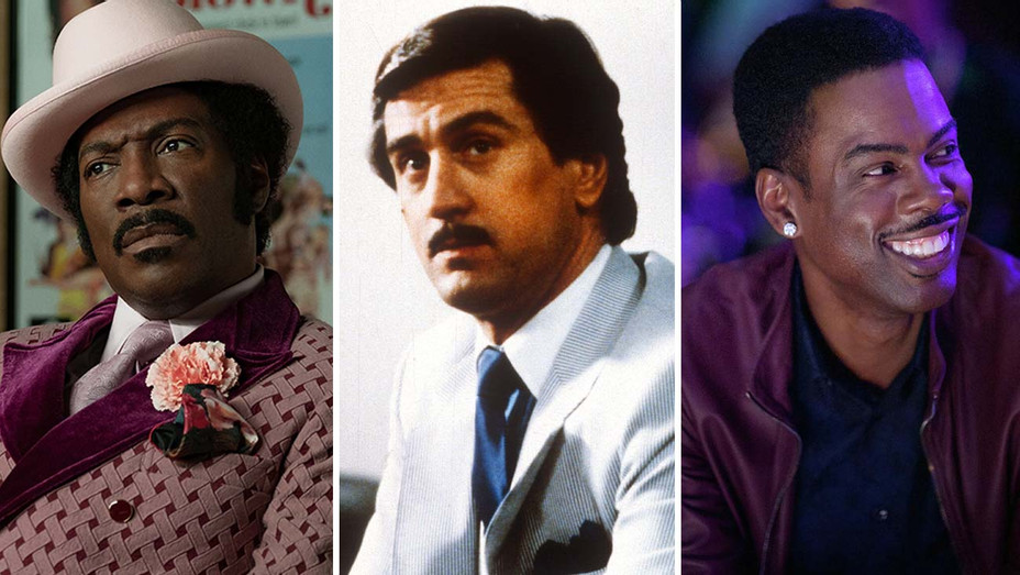 Dolemite Is My Name (2019), The King of Comedy (1983) and Top Five (2014)- Split- Photofest-H 2019