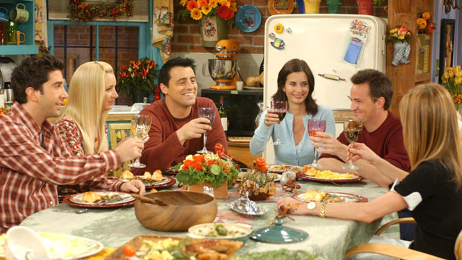 Friends (NBC) season 10 -The One With the Late Thanksgiving, November 20, 2003- Photofest-H 2019