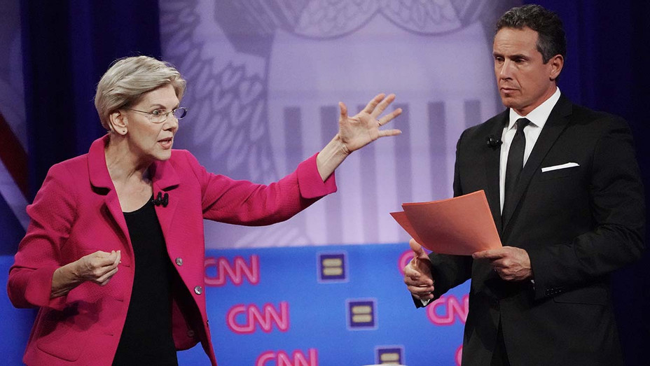 Elizabeth Warren Human Rights Campaign Foundation - Getty - H 2019
