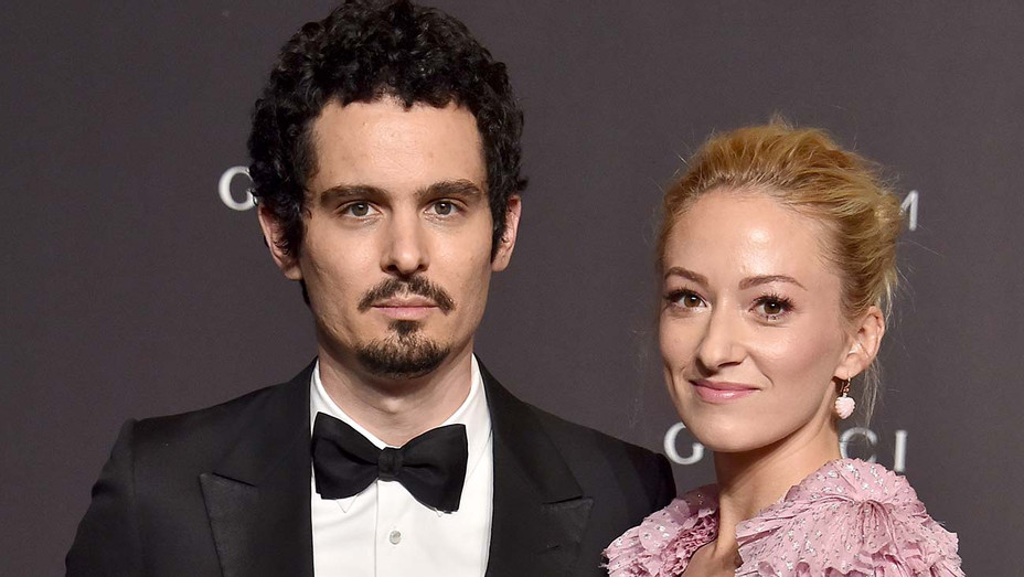 Damien Chazelle and Olivia Hamilton arrive at the 2018 LACMA Art + Film Gala - Getty-H 2019