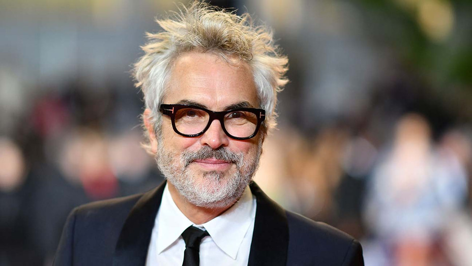 Alfonso Cuaron arrives for the screening of a remastered version of the film The Shining - Getty -H 2019