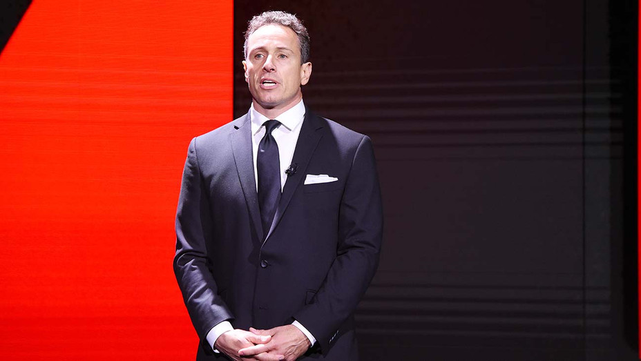 Chris Cuomo of CNN's Cuomo Prime Time speaks onstage during the WarnerMedia Upfront 2019 - Getty-H 2019