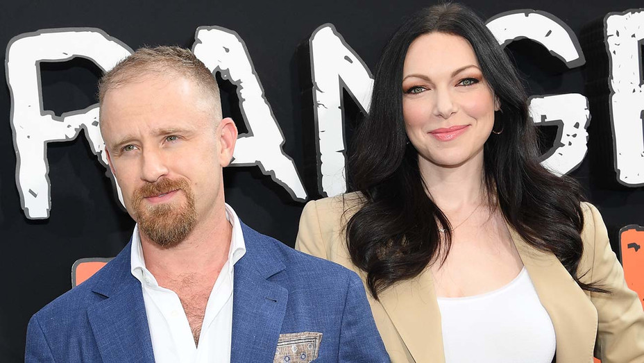 "Ben Foster and Laura Prepon attend the ""Orange Is The New Black"" Final Season World Premiere - Getty-H 2019"