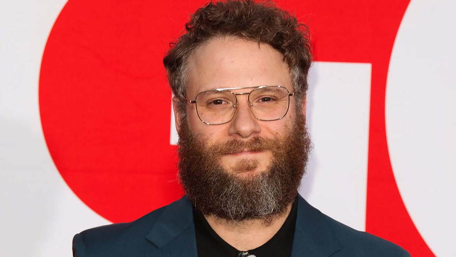 """Seth Rogen  attends the premiere of Universal Pictures' """"Good Boys""""  - Getty-H 2019"""