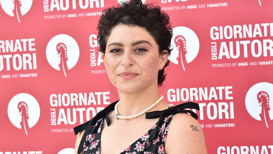Alia Shawkat attends the MiuMiu photocall during the 76th Venice Film Festival - Getty-H 2019