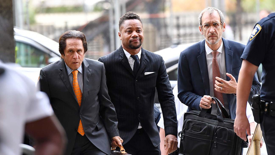 Cuba Gooding Jr. arrives for his trial on his sexual assault case on October 10, 2019, in New York City - Getty-H 2019