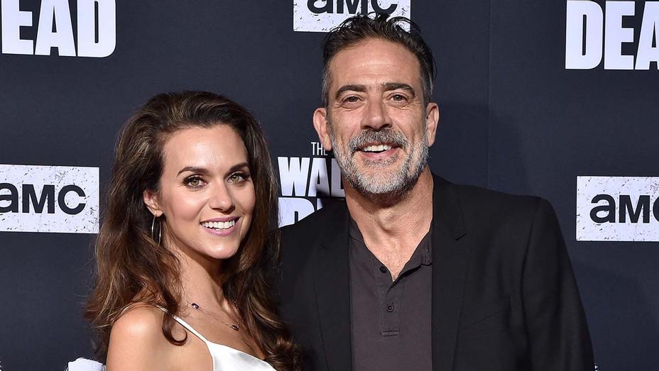 "Hilarie Burton and Jeffrey Dean Morgan attend the Special Screening of AMC's ""The Walking Dead"" Season 10 - Getty-H 2019"