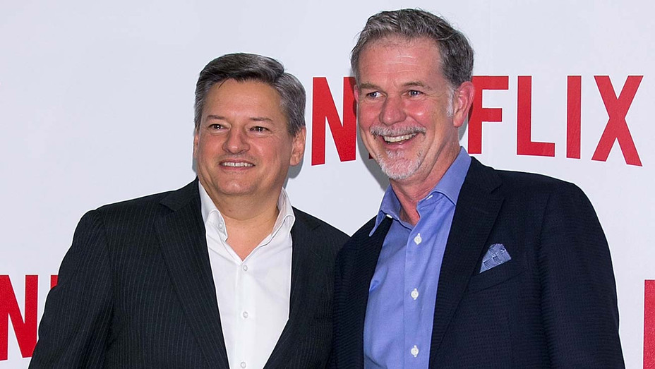 Netflix co-CEOs Ted Sarandos and Reed Hastings