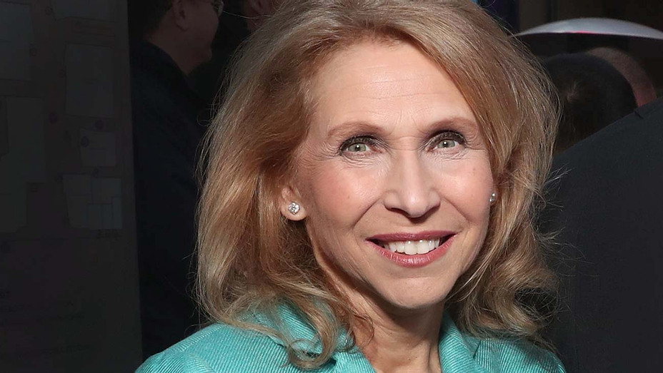 Shari Redstone attend the Ribbon Cutting for the new Viacom Building - Getty -H 2019