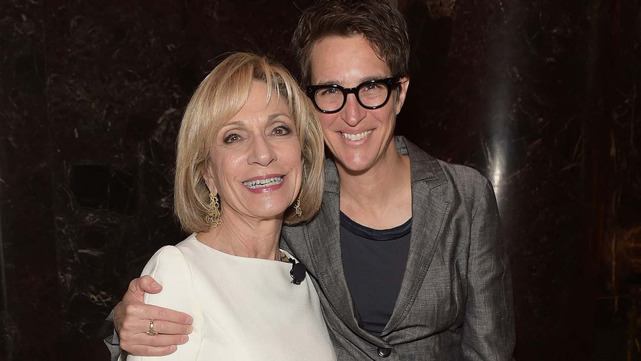 Rachel Maddow and Andrea Mitchell - Getty -H 2019