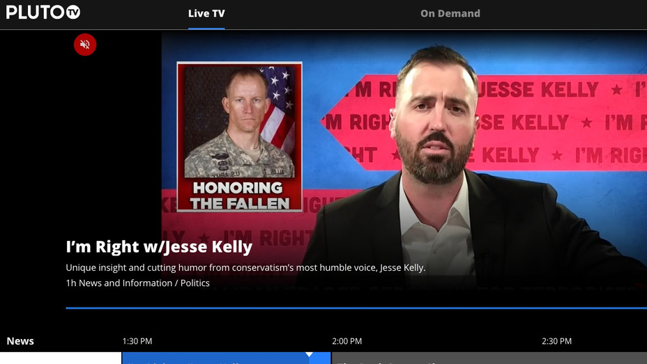 I'm Right with Jesse Kelly PlutoTV - H - 2019