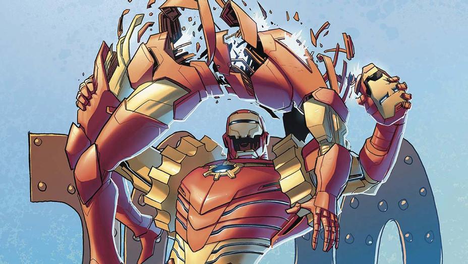 Iron Man - Pete Woods Marvel Entertainment - Publicity-H 2019