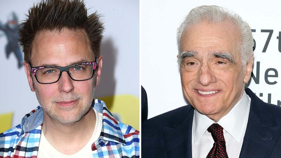 James Gunn and Martin Scorsese - Split- Getty-H 2019
