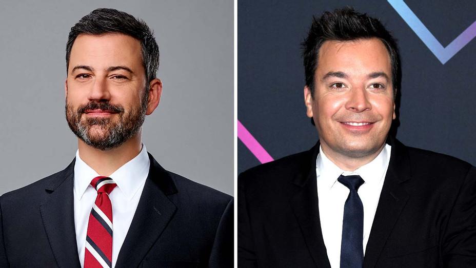 Jimmy Kimmel - Jimmy Fallon- Publicity - Split - H 2019