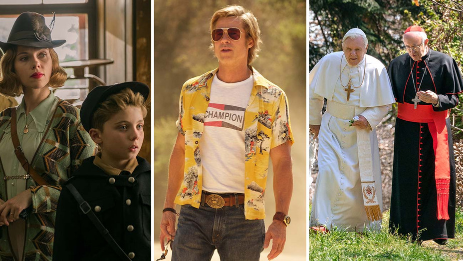 Jojo Rabbit, Once Upon a Time in Hollywood and The Two Popes - Split- Publicity-H 2019