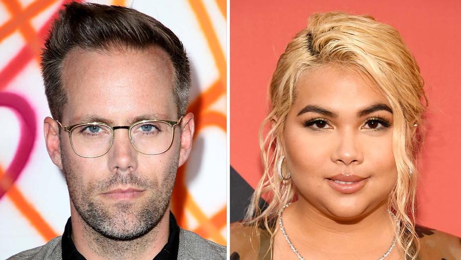 Justin Tranter and Hayley Kiyoko - Getty - Split - H 2019