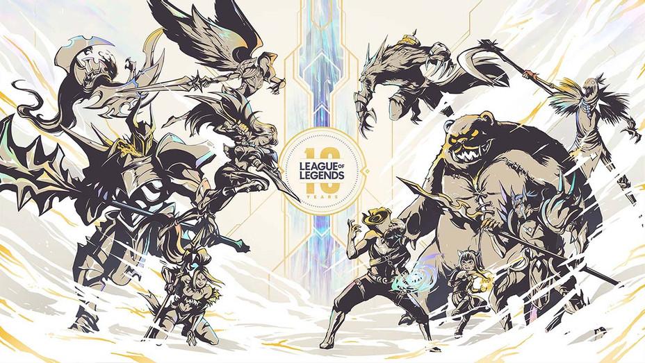 League of Legends 10 years - Publicity - H 2019