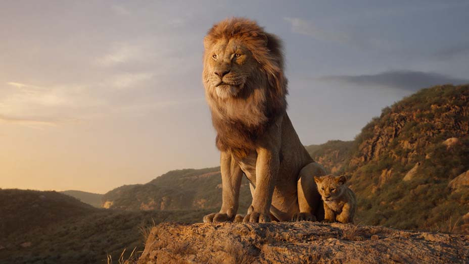 The Lion King (2019) - Mufasa (voice: James Earl Jones), Young Simba (voice: JD McCrary) - EMBED 2019