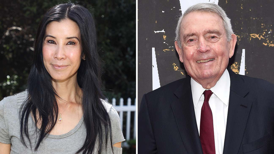 Lisa Ling and Dan Rather Split- Getty-H 2019