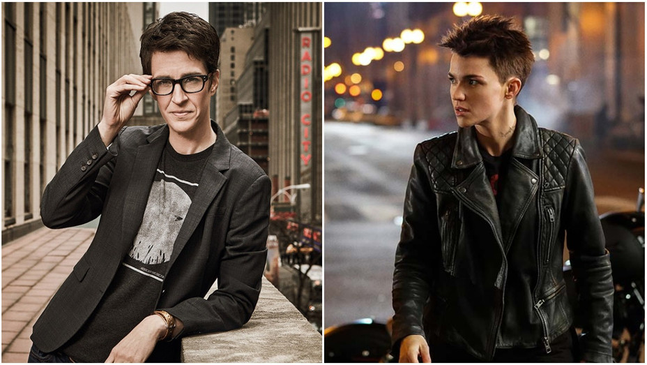 Rachel Maddow, Ruby Rose as Kate Kane Split - Publicity - H 2019