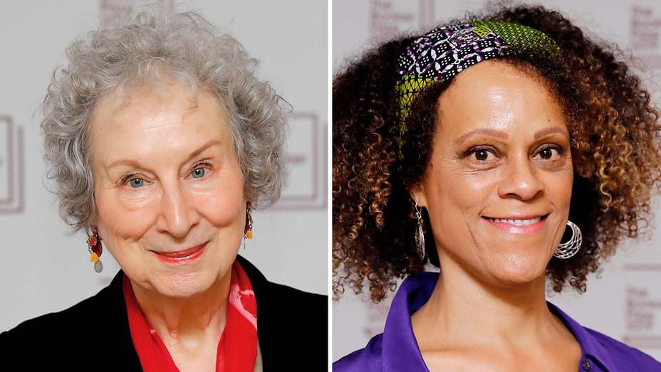 Margaret Atwood and Bernardine Evaristo_Split - Getty - H 2019