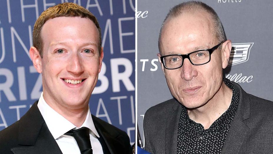 Mark Zuckerberg and News Corp CEO Robert Thomson - Split=- Getty-H 2019