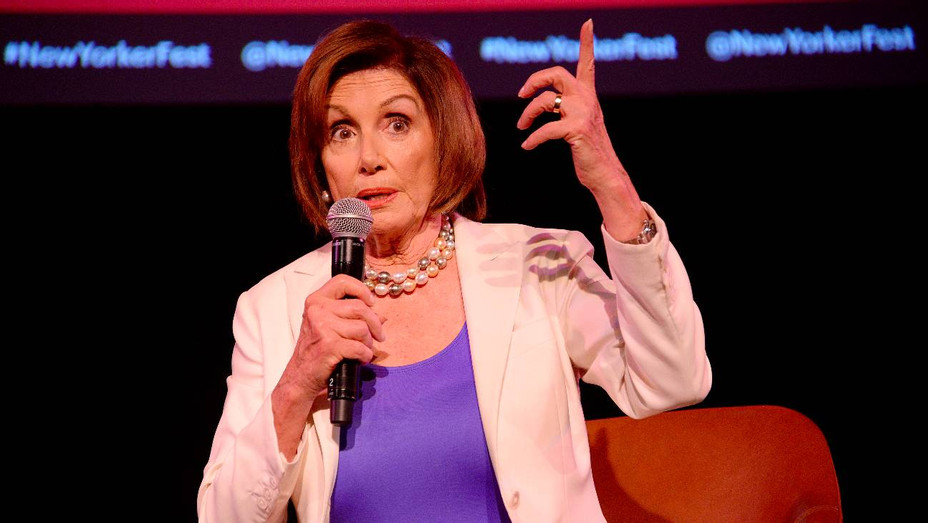 Nancy Pelosi at the 2019 New Yorker Festival - H Getty 2019