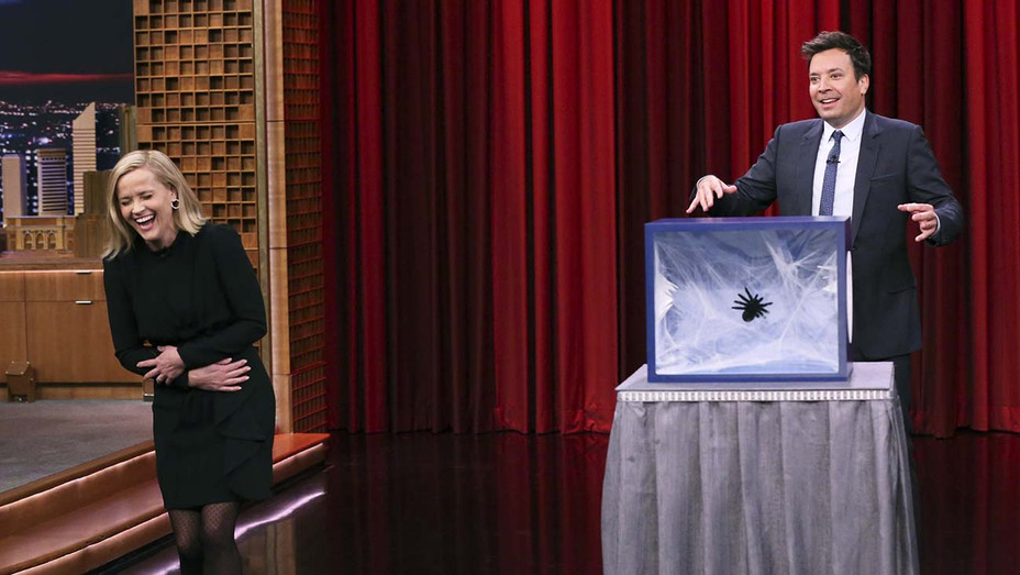"""THE TONIGHT SHOW STARRING JIMMY FALLON - Episode 1146 -Reese Witherspoon and Jimmy Fallon- """"Can You Feel It"""" on October 29, 2019 -H 2019"""