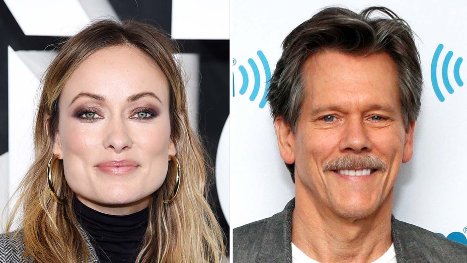 Olivia Wilde and Kevin Bacon - Getty - Split - H 2019