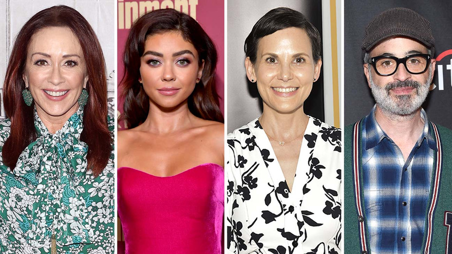 Patricia Heaton, Sarah Hyland, Julie McNamara, Alex Kurtzman - Getty - Split - H 2019