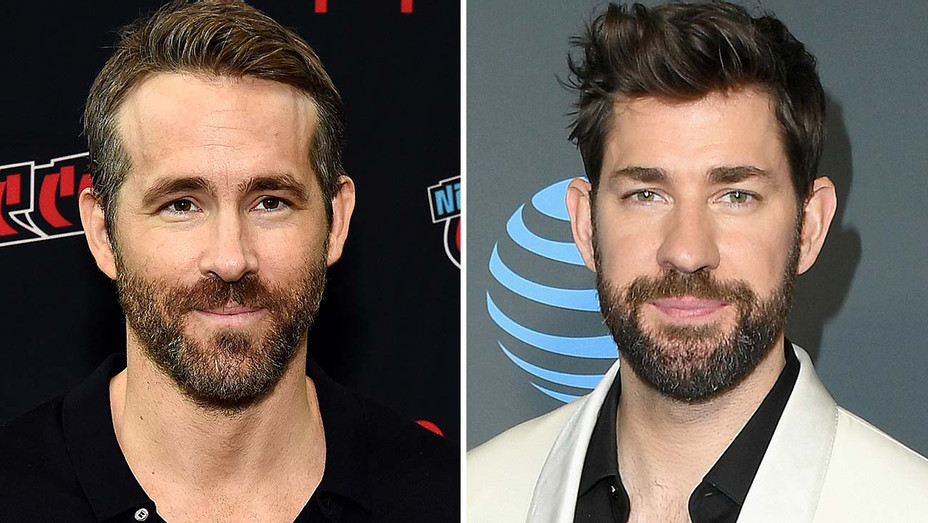 Ryan Reynolds and John Krasinski -Split-Getty-H 2019