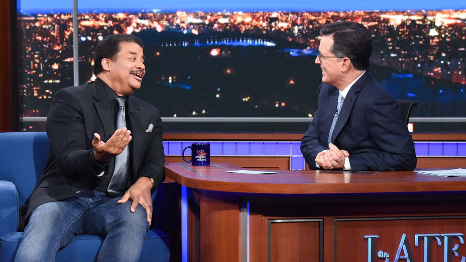 The Late Show with Stephen Colbert_ Neil deGrasse Tyson - Publicity - H 2019