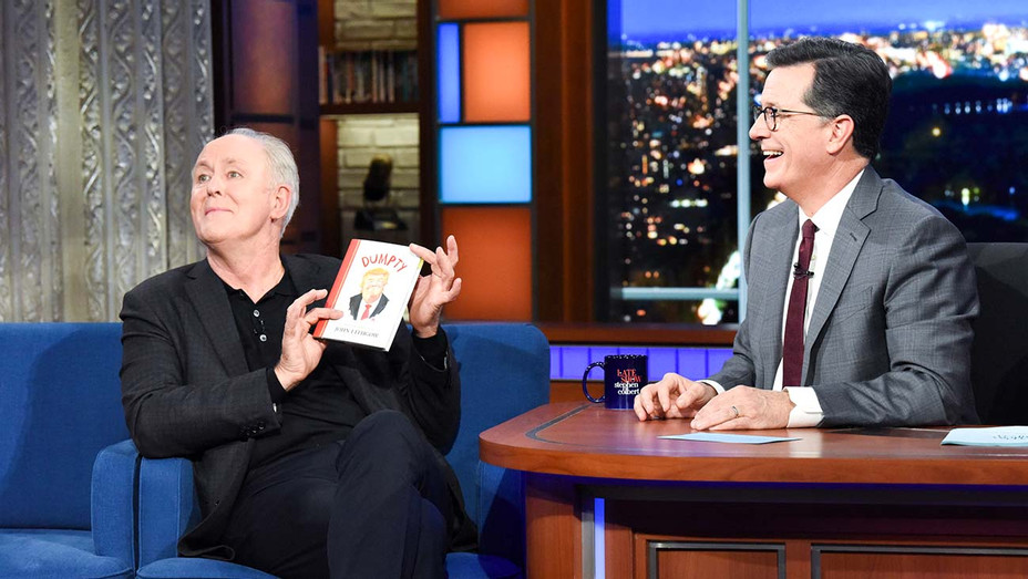The Late Show with Stephen Colbert and guest John Lithgow - Publicity Still - H 2019
