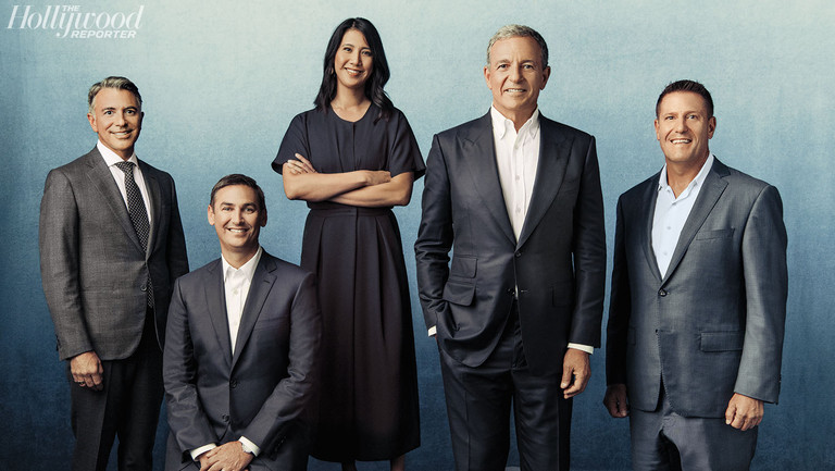 Disney Over the Top: Bob Iger Bets the Company (and Hollywood's Future) on Streaming