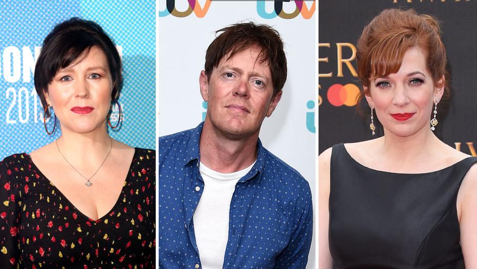 Alice Lowe, Kris Marshall, Katherine Parkinson Split - Getty H - 2019