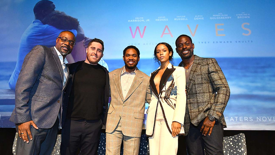 """The """"Waves"""" Atlanta red carpet premiere- Getty - H 2019"""