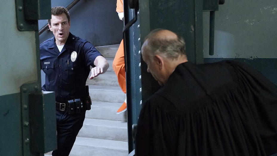 """THE ROOKIE - """"Fallout"""" - NATHAN FILLION- Publicity-H 2019"""