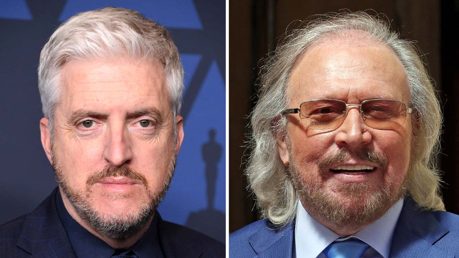 Anthony McCarten and Barry Gibb - Getty - Split - H 2019