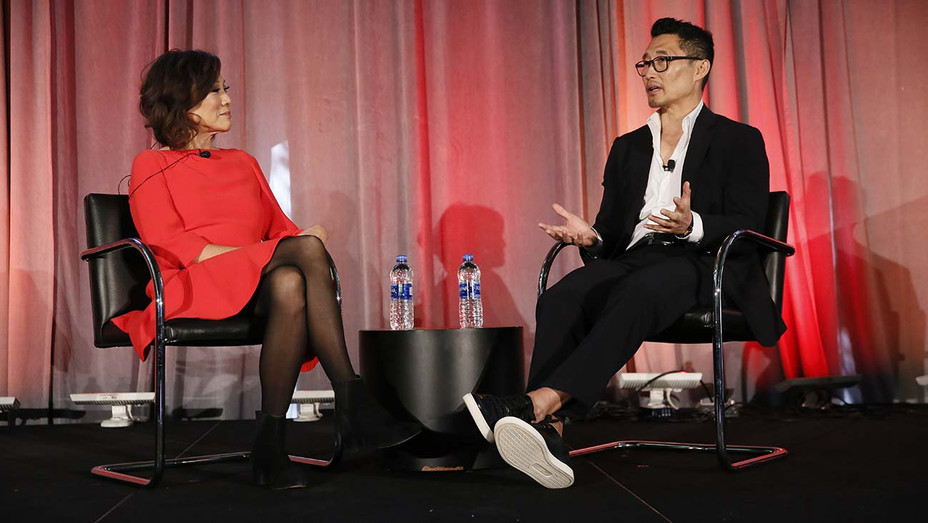 Janet Yang and Daniel Dae Kim during the Asia Society 2019 — Publicity  — H 2019