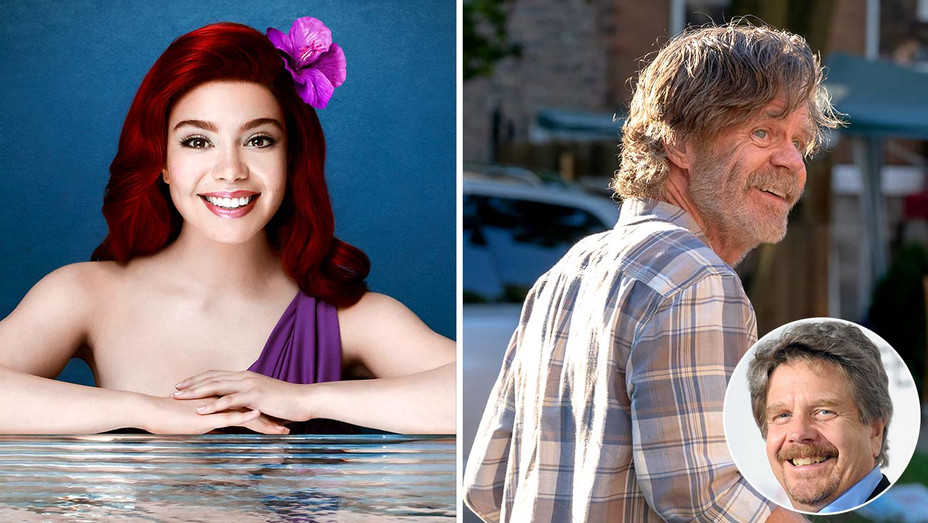 "Auli'i Cravalho- ""Little Mermaid""- featuring William H. Macy, with an inset of John Wells - Publicity - Getty - Split - Inset - H 2019"