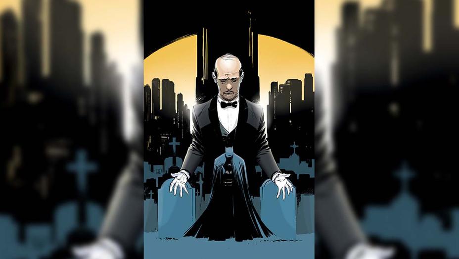 Batman- Pennyworth RIP Cover - Publicity - H 2019
