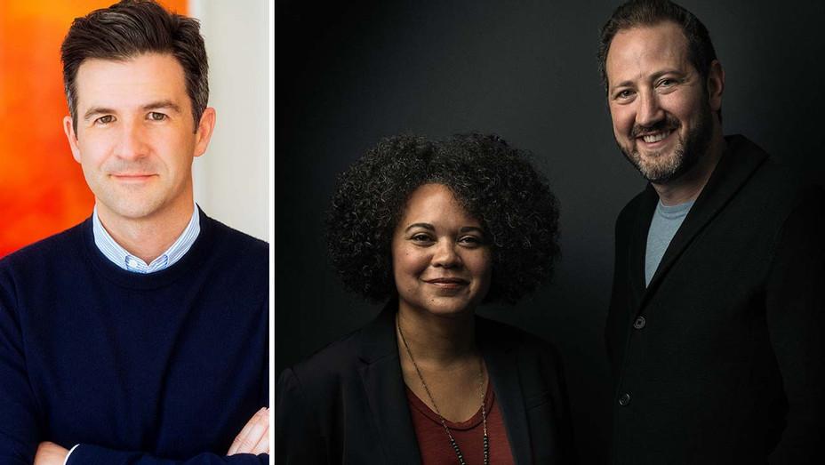 Ben LeClair, Kiri Hart and Stephen Feder Split- T-Street Publicity-H 2019