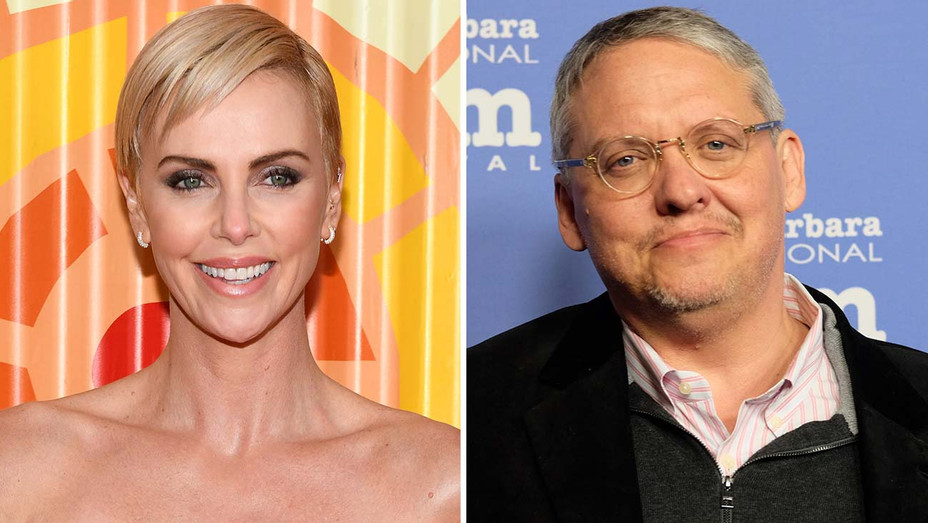 Charlize Theron and Adam McKay -Split-Getty-H 2019