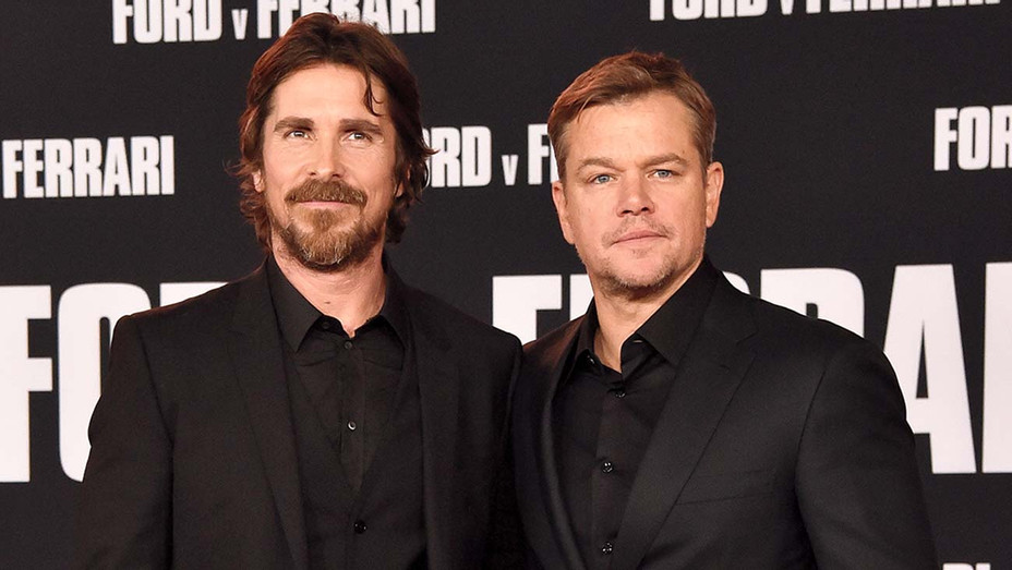 Christian Bale and Matt Damon - Getty - H 2019