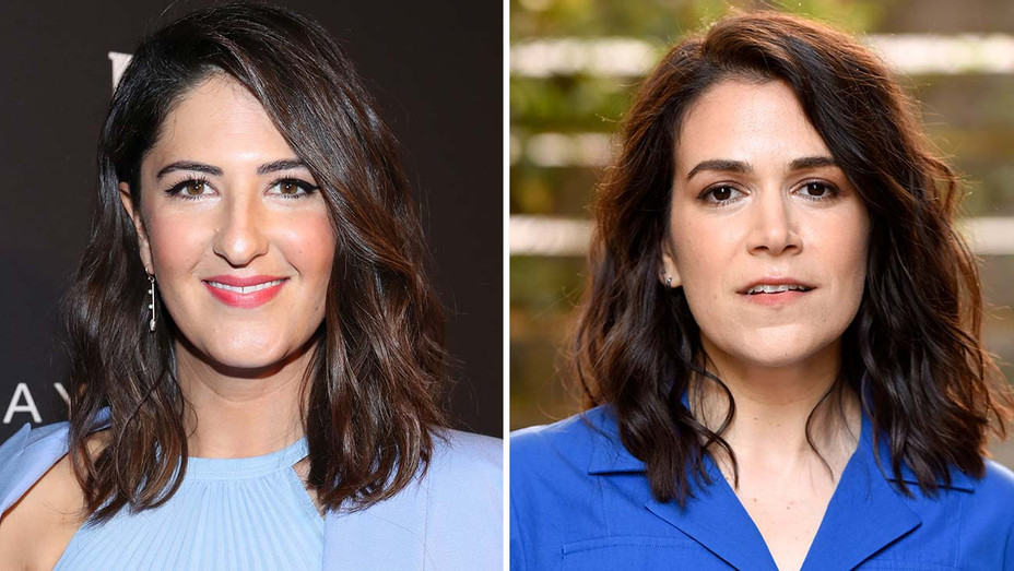 D'Arcy Carden and Abbi Jacobson - Split -Getty-H 2019
