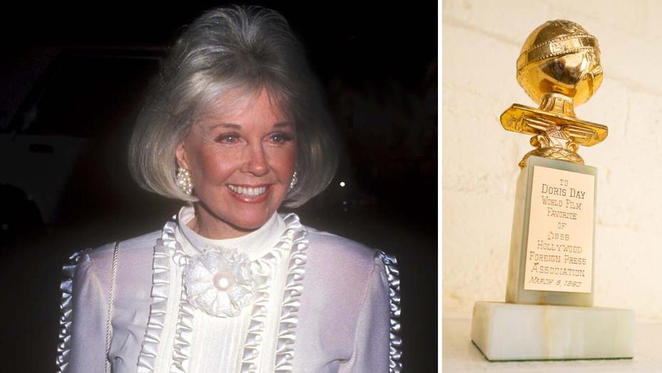 Doris Day - Golden Globe Awards Split -Getty-H 2019