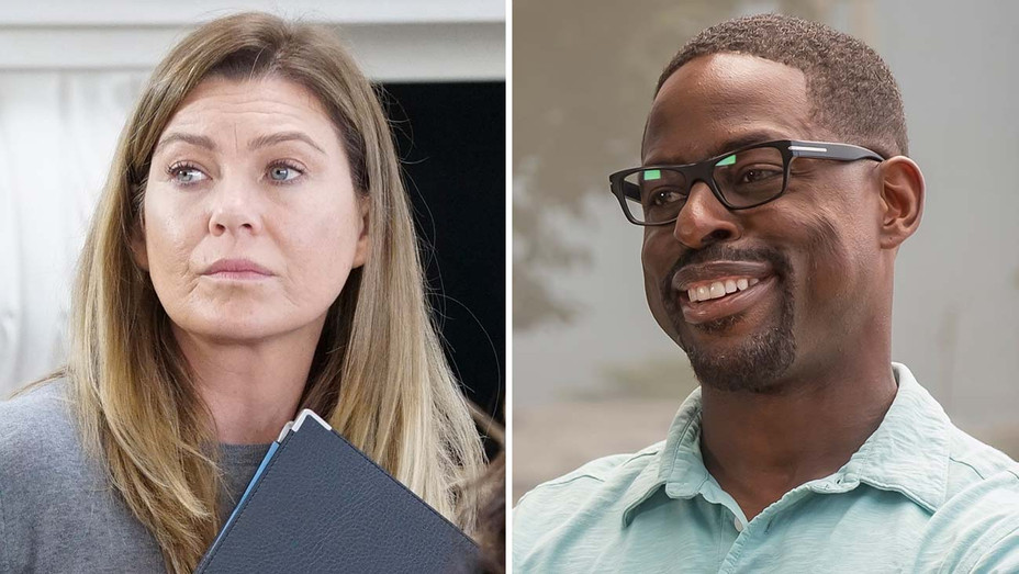 Ellen Pompeo on Grey's Anatomy (ABC) and Sterling K Brown on This Is Us (NBC) Split- Publicity -H 2019