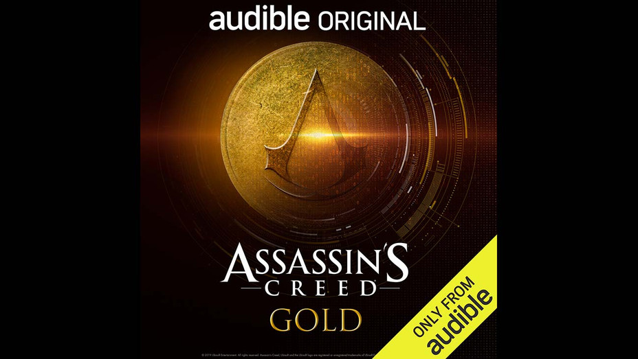 Assassin's Creed Gold - Audible Orginal Cover Art -Publicity- H 2019