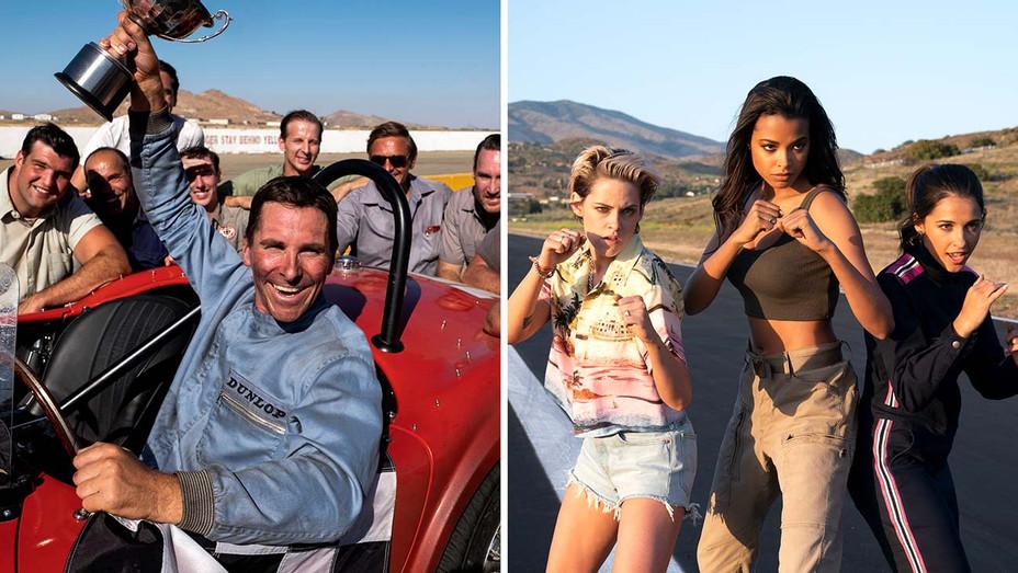 Ford V Ferrari - Charlie's Angels - Publicity Stills - Split - H 2019
