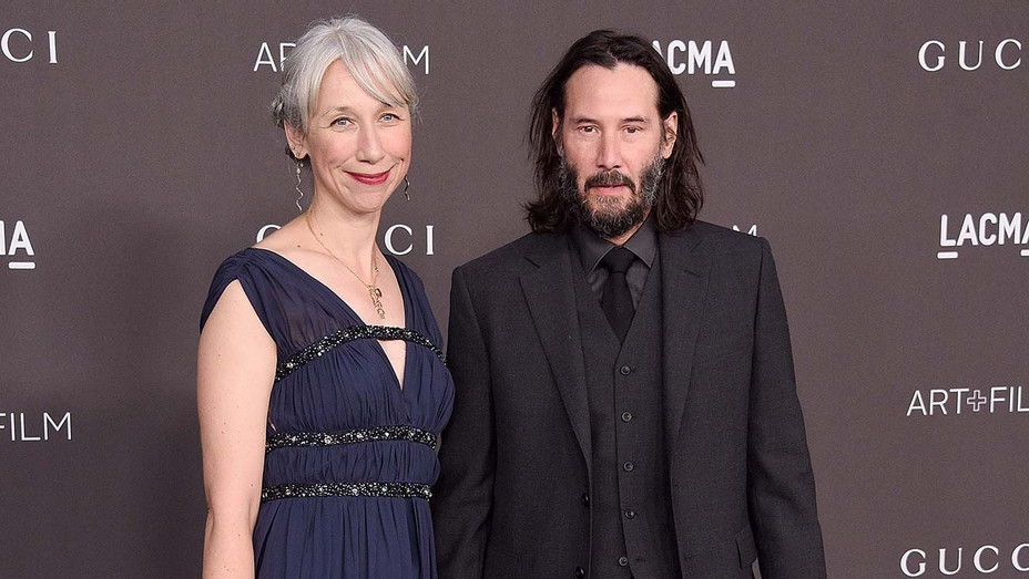 Keanu Reeves and Alexandra Grant arrive at the 2019 LACMA Art + Film Gala -Getty-H 2019